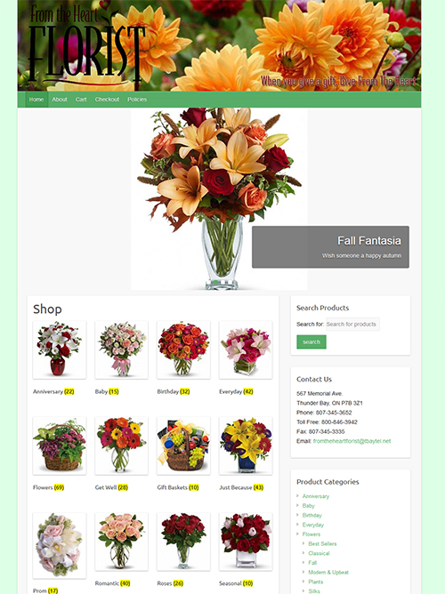 www.fromtheheartfloristtbay.com